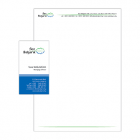 See Bulgaria – letterhead and business card