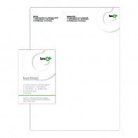 BMG – letterhead and business card