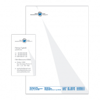 PAN Facility – letterhead and business card