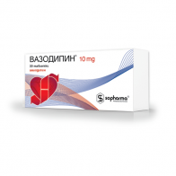 Vasodipin – package design